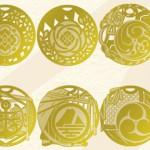 【刀剣乱舞】紋をモチーフにしたブックマーカーが発売されます!