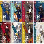 【刀剣乱舞】アニメイトよりスティッキールはさみ8種類が2月に発売!